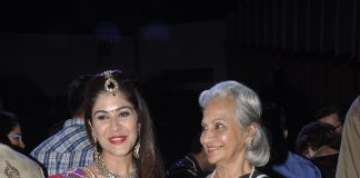 Helen, Waheeda Rehman, Asha Parekh watch Blame it on Yashraj play