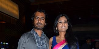 Nawazuddin Siddiqui attends premiere of Marathi movie Dhag