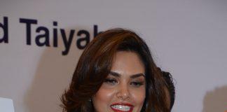 Esha Gupta attends press conference to promote Malaysia tourism