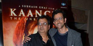 Hrithik Roshan, Subhash Ghai attend Kaanchi music launch event