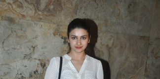 Prachi Desai, Elli Avram attend special screening of Lakshmi