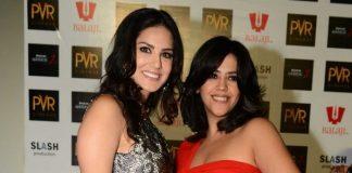 Sunny Leone, Ekta Kapoor attend Ragini MMS 2 promotions in Delhi