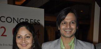 Rati Agnihotri, Vivek Oberoi attend HIV Congress 2014 press event