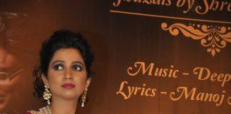 Shreya Ghoshal releases debut ghazal album Humnasheen
