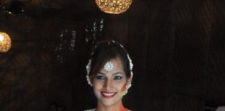 Tanisha Singh poses for Holi photoshoot