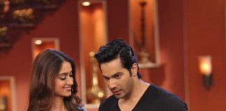 Varun Dhawan, Ileana D'Cruz visit Comedy Nights with Kapil