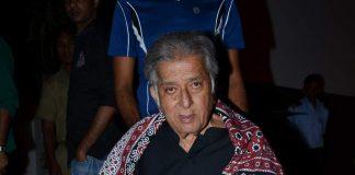 Shashi Kapoor attends Zakir Hussain's concert