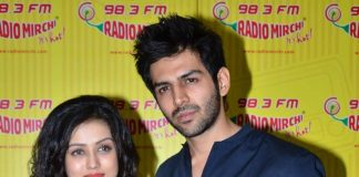 Mishti, Kartik Tiwari promote Kaanchi at Radio Mirchi