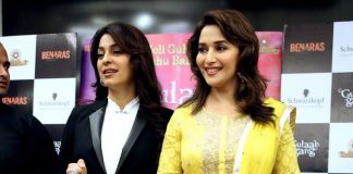 Madhuri Dixit, Juhi Chawla attend Gulaab Gang promotion in Delhi