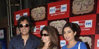 Shreya Ghoshal, Talat Aziz record for Carvan-e-Ghazal