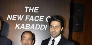 Abhishek Bachchan attends Pro Kabaddi press conference