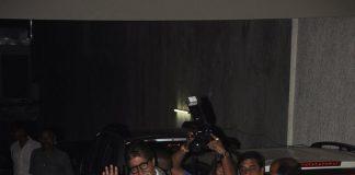 Amitabh Bachchan, Jaya Bachchan attend Bhoothnath Returns special screening