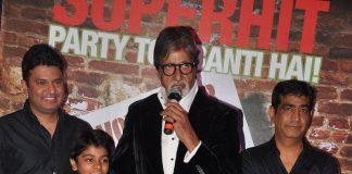 Amitabh Bachchan, Boman Irani attend Bhoothnath Returns success bash