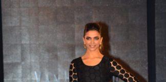 Deepika Padukone walks the ramp for Van Heusen's clothing line launch
