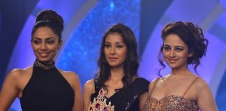 Rochelle Maria Rao, Vanya Mishra attend Femina Miss India 2014 event