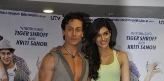 Tiger Shroff, Kriti Sanon promote Heropanti, celebrate World Dance Day