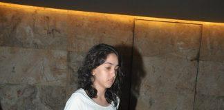 Aamir Khan's daughter Ira snapped at Rio 2 screening – Photos