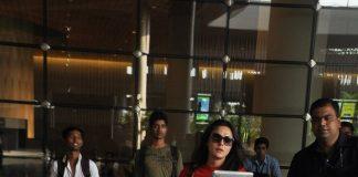 Preity Zinta returns from IPL 7 Match