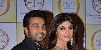 Shilpa Shetty, Raj Kundra launch Satyug Gold in Mumbai