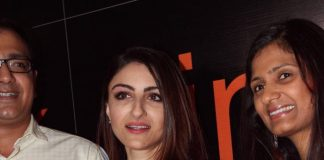 Soha Ali Khan attends Zink London Store launch event