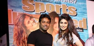 Leander Paes, Puja Gupta attend Sports Illustrated India Swimsuit Issue 2014 launch