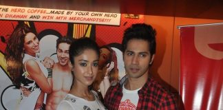 Varun Dhawan, Ileana D'Cruz promote Main Tera Hero in Delhi