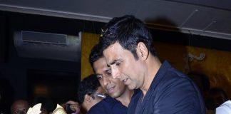 Akshay Kumar on Comedy Nights With Kapil and mahurat launch of Thann Than Gopal