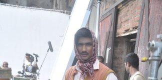 Sushant Singh Rajput snapped on Byomkesh Bakshi sets