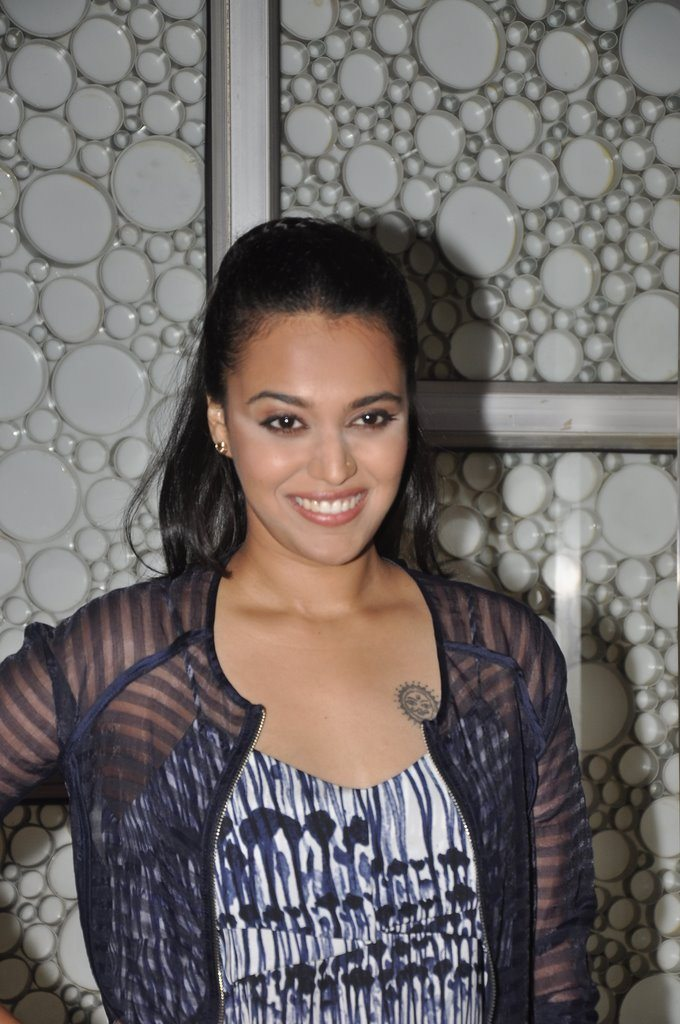 Swara Bhaskar at the screening of Machhli Jal Ki Rani Hai
