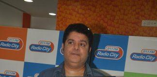 Director Sajid Khan and singer Himesh Reshammiya at Radio City for Humshakals music launch
