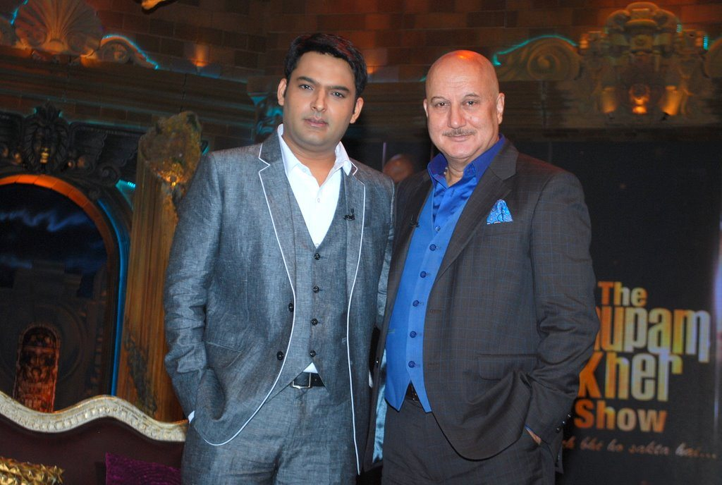 Kapil Sharma on The Anupam Kher Show - Kuch Bhi Ho Sakta Hai