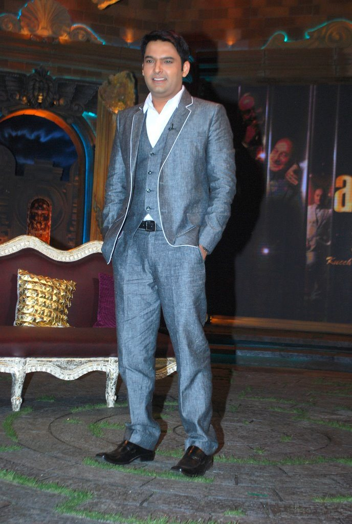 Kapil Sharma on The Anupam Kher Show - Kuch Bhi Ho Sakta Hai