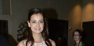 Diya Mirza snapped in United States