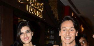 Tiger Shroff and Kriti Sanon at Heropanti Provogue Promotion