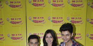 Kuku Mathur Ki Jhand Hogayi cast promote at Radio Mirchi