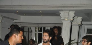 Shahid Kapoor snapped at Villa 69