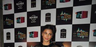 Shruti Haasan attends VH1 Sound Nation Awards in Mumbai