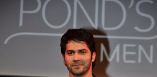 Varun Dhawan attends Pond's Men's range launch event