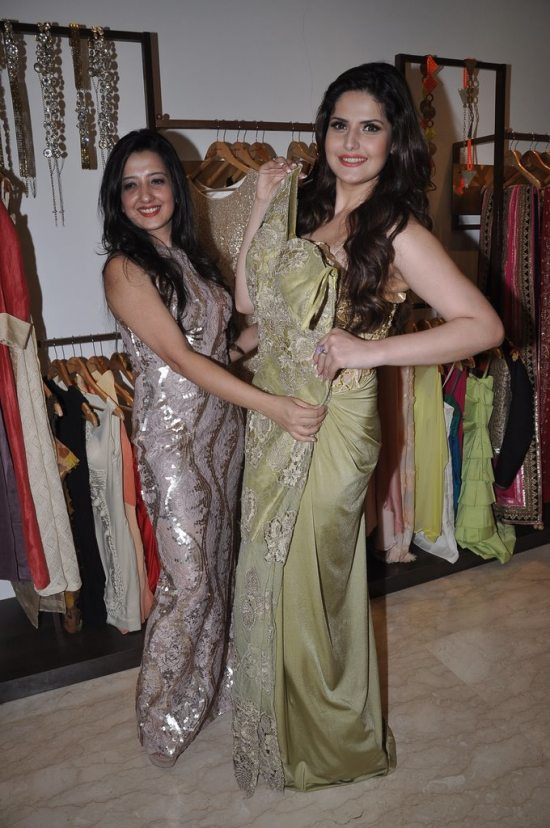 Zareen_Khan_at_Amy_Billimoria_store67