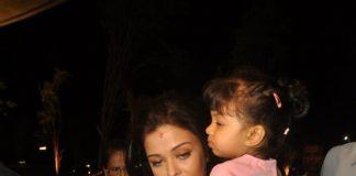 Aishwarya Rai, Aaradhya Bachchan snapped at Mumbai Airport