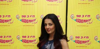 Celina Jaitly visits Radio Mirchi to promote debut song
