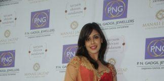 Hrishita Bhatt at new collection launch of P.N. Gadgil Jewellers – Photos