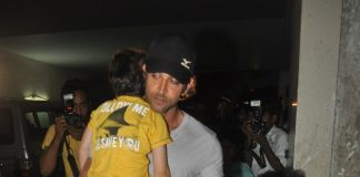 Hrithik Roshan attends X -men screening with sons