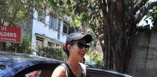 Jacqueline Fernandez snapped leaving yoga class