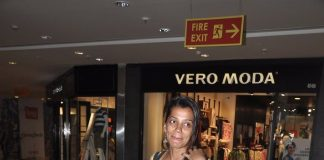 Mugdha Godse snapped shopping