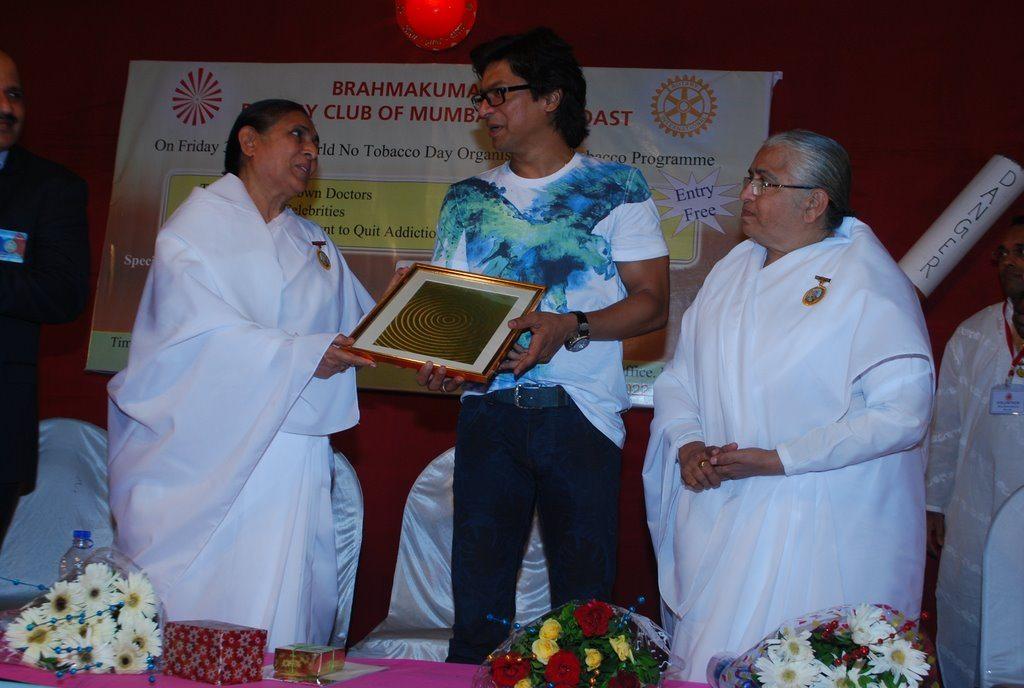 Singer Shaan attends Brahmakumari event