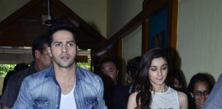 Alia Bhatt and Varun Dhawan promote Humpty Sharma Ki Dulhania at HR College – Photos