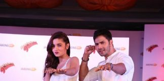 Alia Bhatt and Varun Dhawan unveil latest collection for Jabong.com
