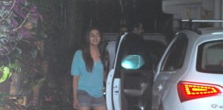 Alia Bhatt at recording studio with Sharib and Toshi