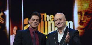 Shahrukh Khan on Anupam Kher show Kucch Bhi Ho Sakta Hai